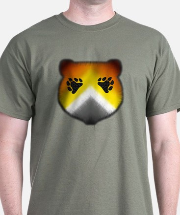 FURRY BEAR PRIDE HEAD/PKT T-Shirt