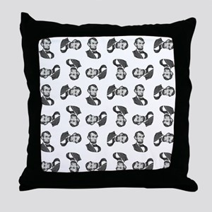 HONEST ABE Throw Pillow
