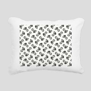 HONEST ABE Rectangular Canvas Pillow