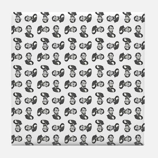 HONEST ABE Tile Coaster