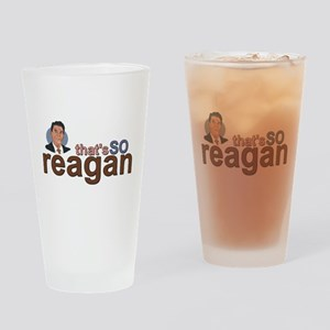 THAT'S SO REAGAN Drinking Glass