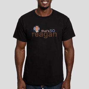 THAT'S SO REAGAN Men's Fitted T-Shirt (dark)