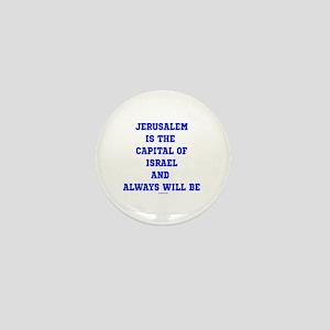 Jerusalem Israel Forever Mini Button
