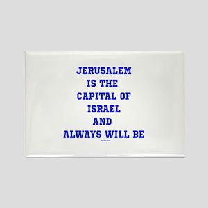 Jerusalem Israel Forever Magnets