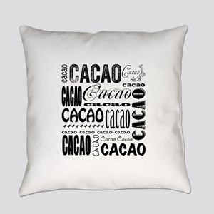 Cacao Portlandia Everyday Pillow