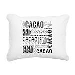 Cacao Portlandia Rectangular Canvas Pillow