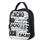 Cacao Portlandia Neoprene Lunch Bag