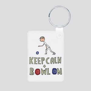 Keep Calm Bowls Keychains