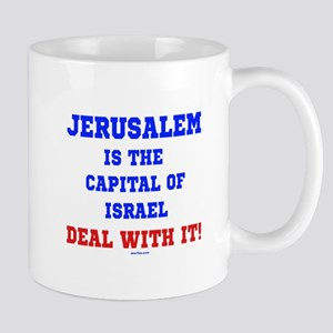 Jerusalem's Israel's Capital Mug