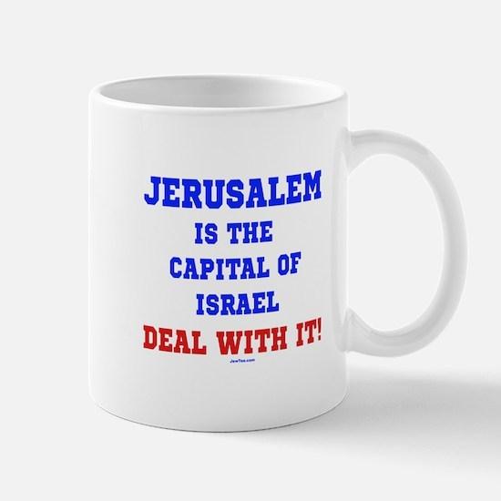 Jerusalem's Israel's Capital Mug