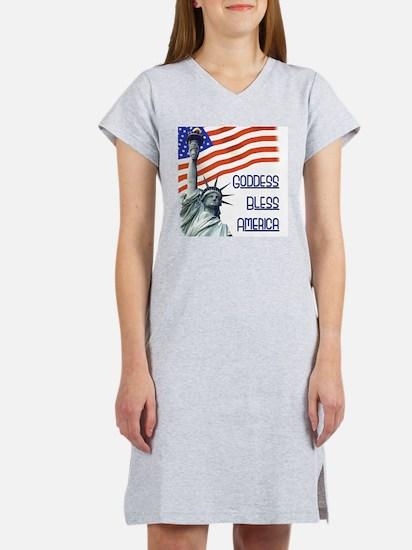 : Goddess Bless America T-Shirt