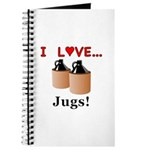 I Love Jugs Journal