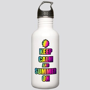 Keep Calm And Summer On Water Bottle