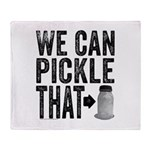 Pickle That Throw Blanket