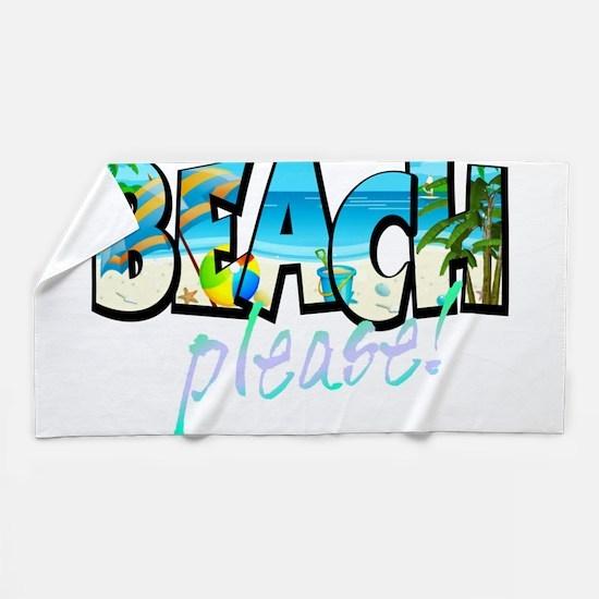 Kids Beach Please! Beach Towel