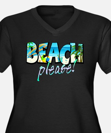 Kids Beach Please! Plus Size T-Shirt