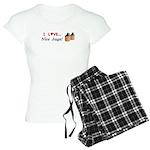 I Love Nice Jugs Women's Light Pajamas