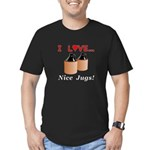 I Love Nice Jugs Men's Fitted T-Shirt (dark)