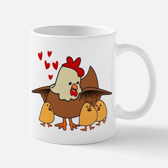 Under mom's wings Mugs