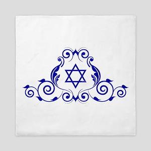 JEWISH STAR_STAR OF DAVID Queen Duvet