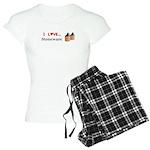 I Love Stoneware Women's Light Pajamas