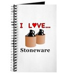 I Love Stoneware Journal
