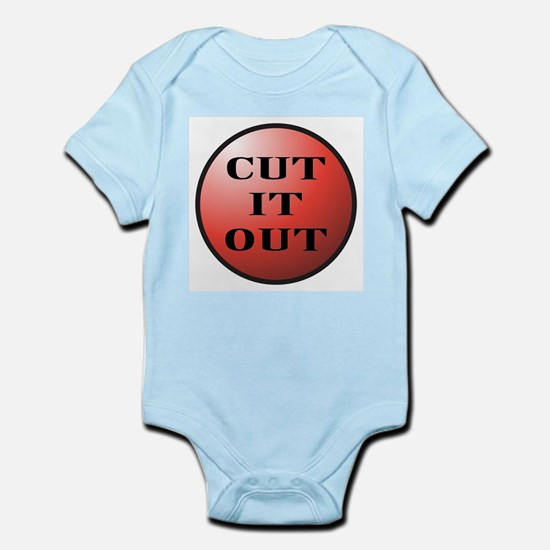 Cut It Out Button Body Suit