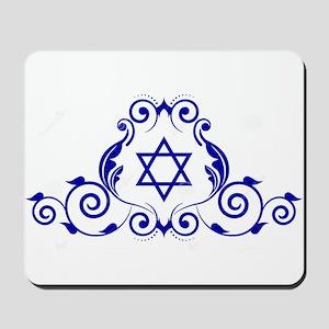 JEWISH STAR_STAR OF DAVID Mousepad