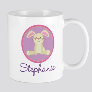 Personalized Easter Bunny Baby Mugs