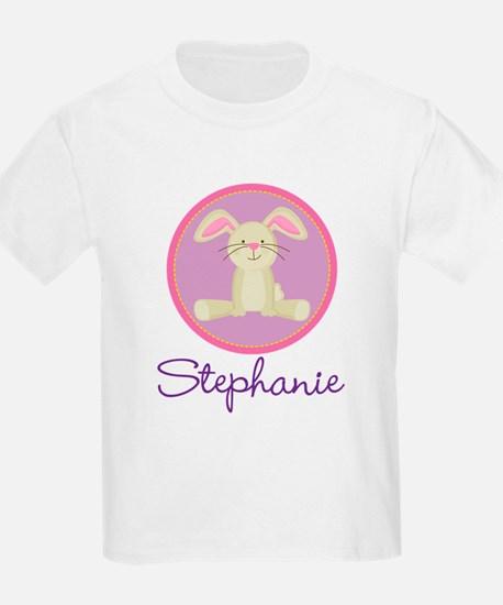 Personalized Easter Bunny Baby T-Shirt