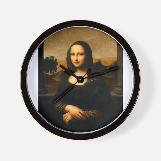 Leonardo's Mona Lisa Wall Clock