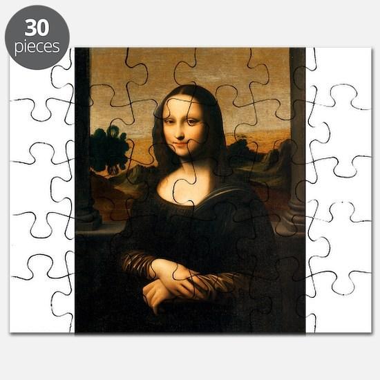 Leonardo's Mona Lisa Puzzle