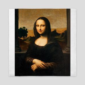 Leonardo's Mona Lisa Queen Duvet