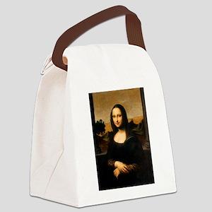 Leonardo's Mona Lisa Canvas Lunch Bag