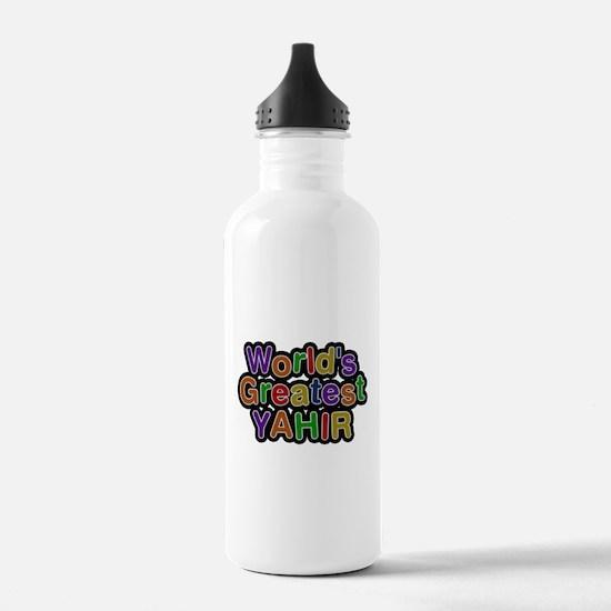 Worlds Greatest Yahir Water Bottle