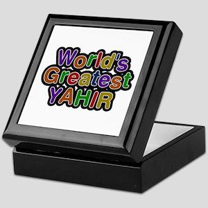 World's Greatest Yahir Keepsake Box