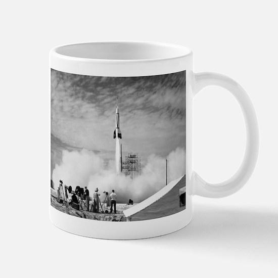 1st Rocket Launch, 1950 Mug
