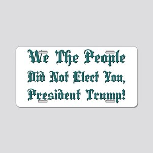 WE THE PEOPLE... Aluminum License Plate