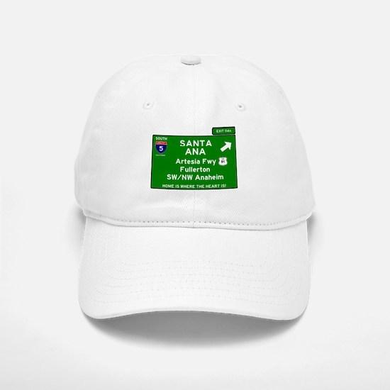 I5 INTERSTATE - CALIFORNIA - SANTA ANA - EXIT Baseball Baseball Cap