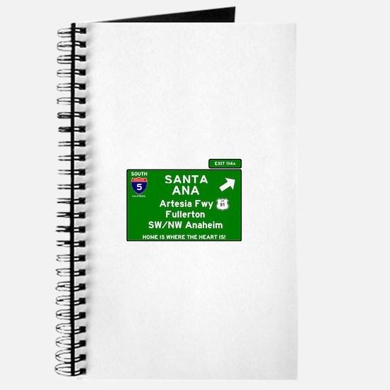 I5 INTERSTATE - CALIFORNIA - SANTA ANA - E Journal