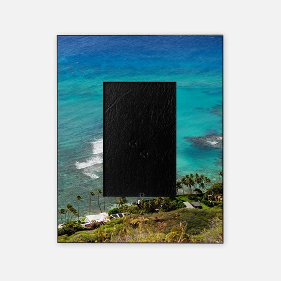 View from Diamond Head, Hawaii Picture Frame