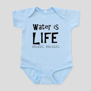 Water is Life -#NoKXL, #NoDAPL Body Suit