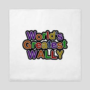World's Greatest Wally Queen Duvet
