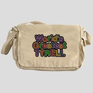 Worlds Greatest Tyrell Messenger Bag