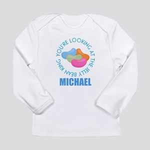 Easter Candy Personalized Boys Long Sleeve T-Shirt