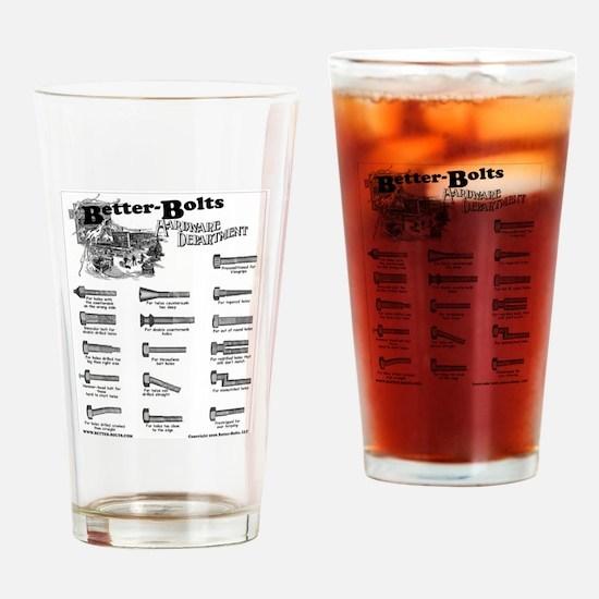 Cute Machinist Drinking Glass