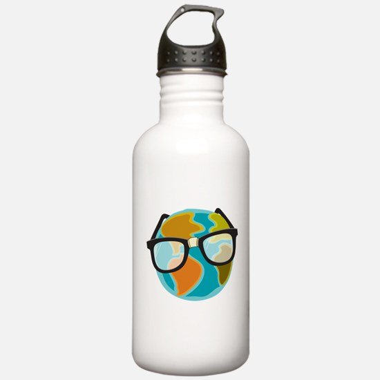 Nerds for the Earth Water Bottle
