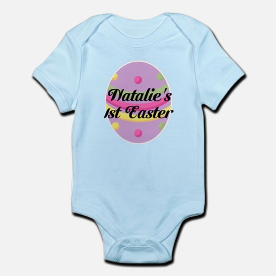 Personalized Easter Egg Girls Body Suit