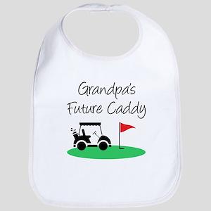 Grandpa's Future Caddy Baby Bib