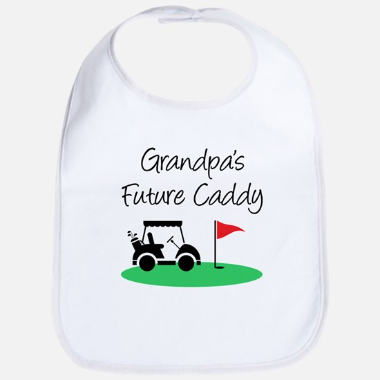 Grandpa's Future Caddy Baby Bib